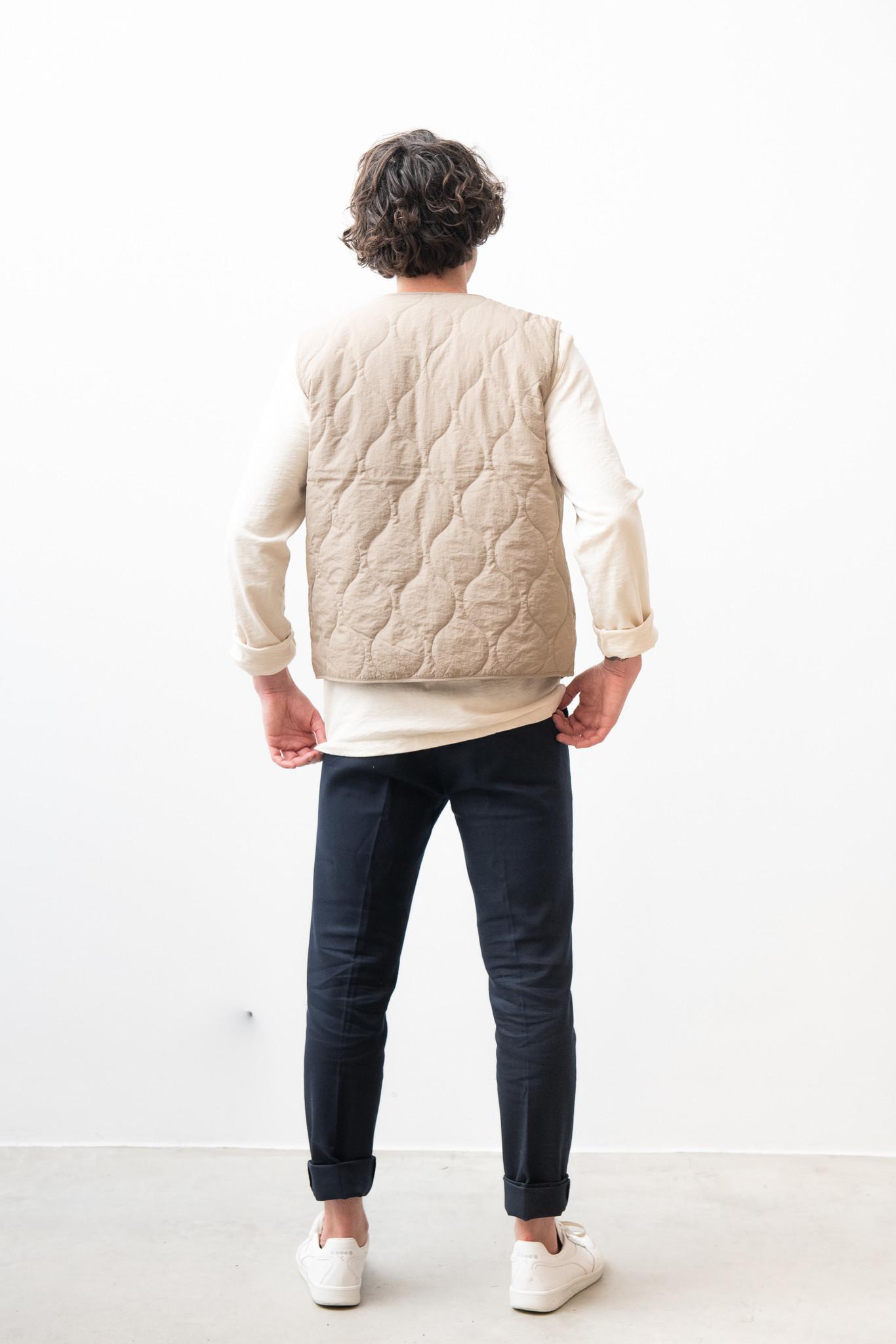 Hobson Vest Olive Green-5