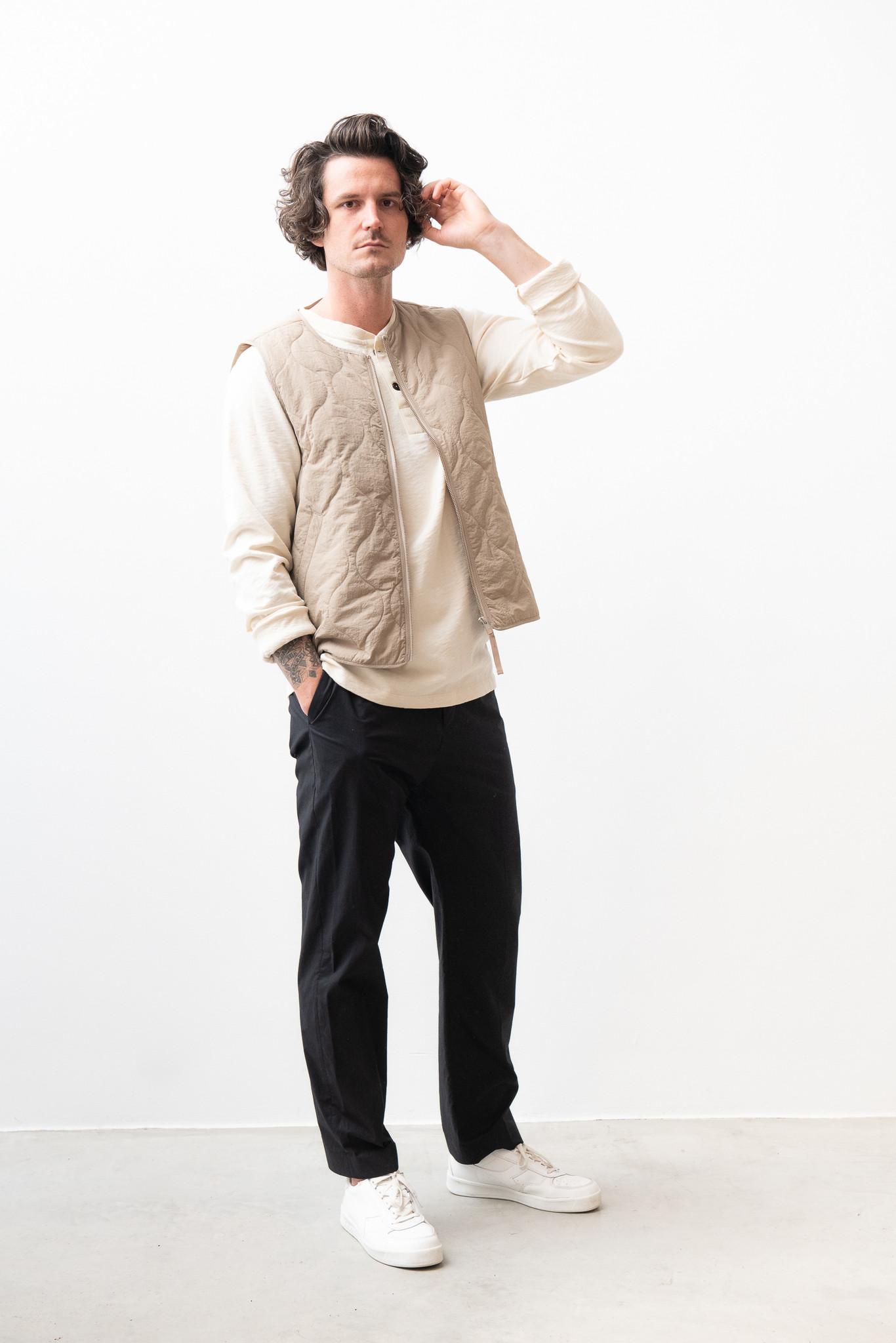 Hobson Vest Olive Green-6