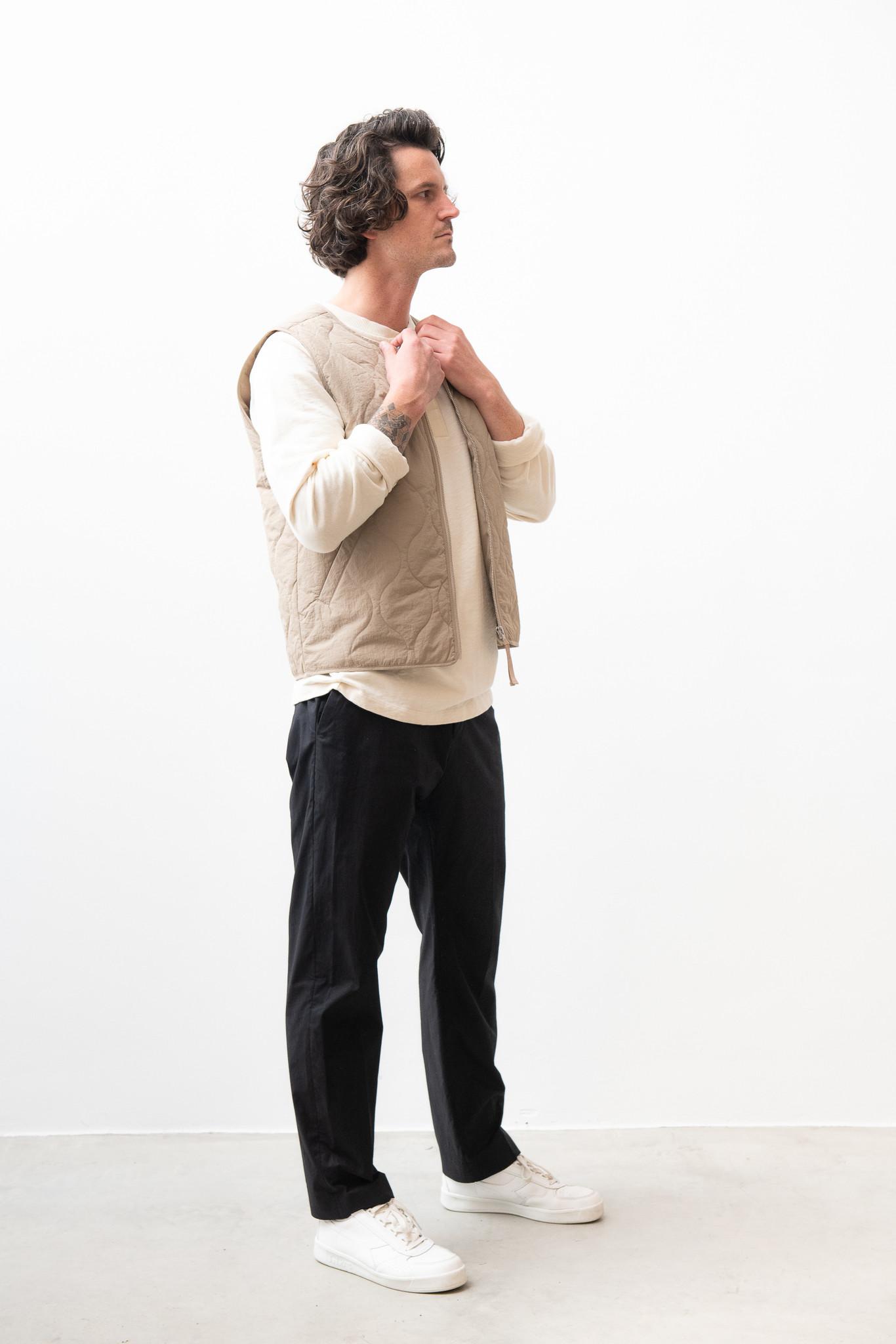 Hobson Vest Olive Green-3
