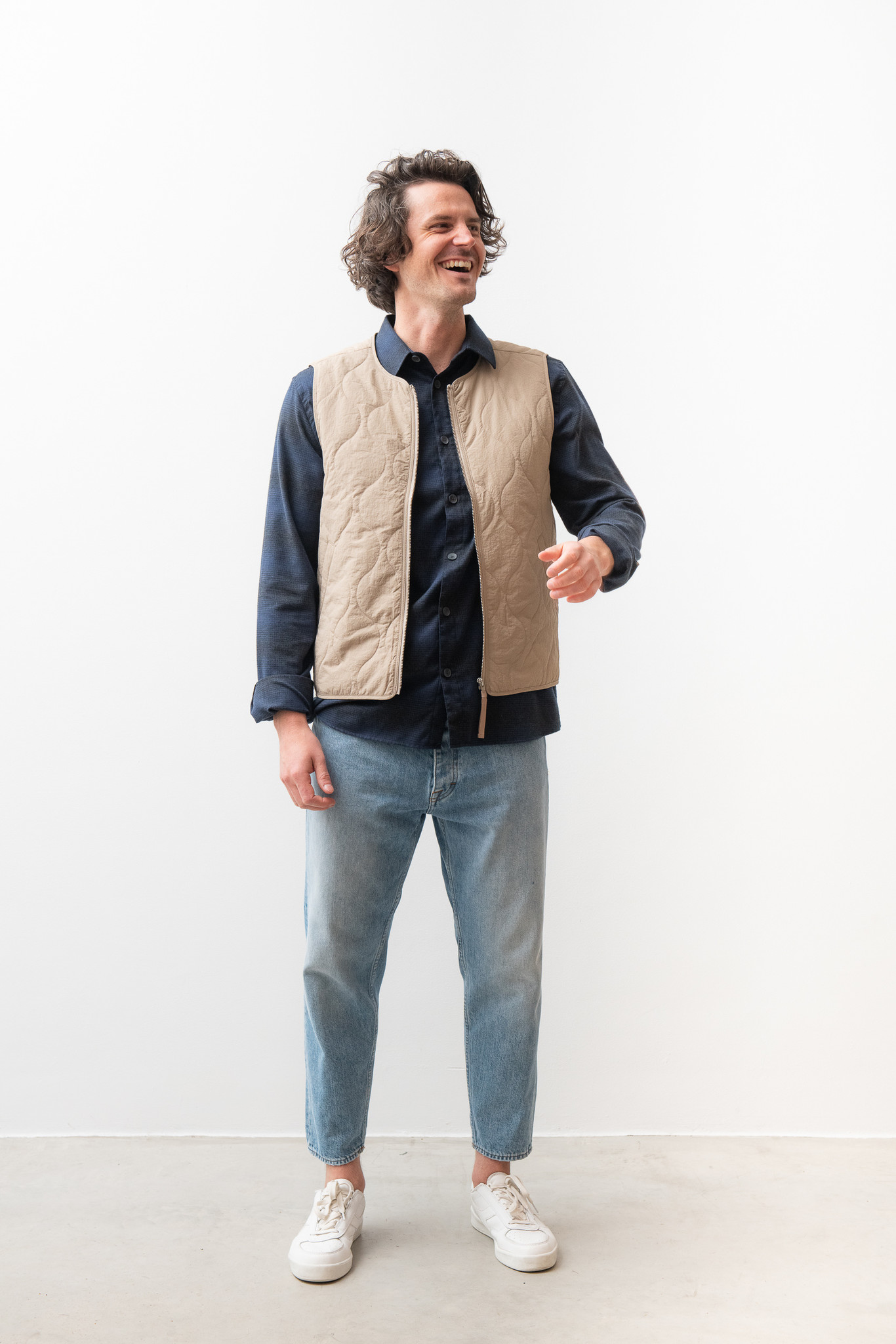Hobson Vest Olive Green-7