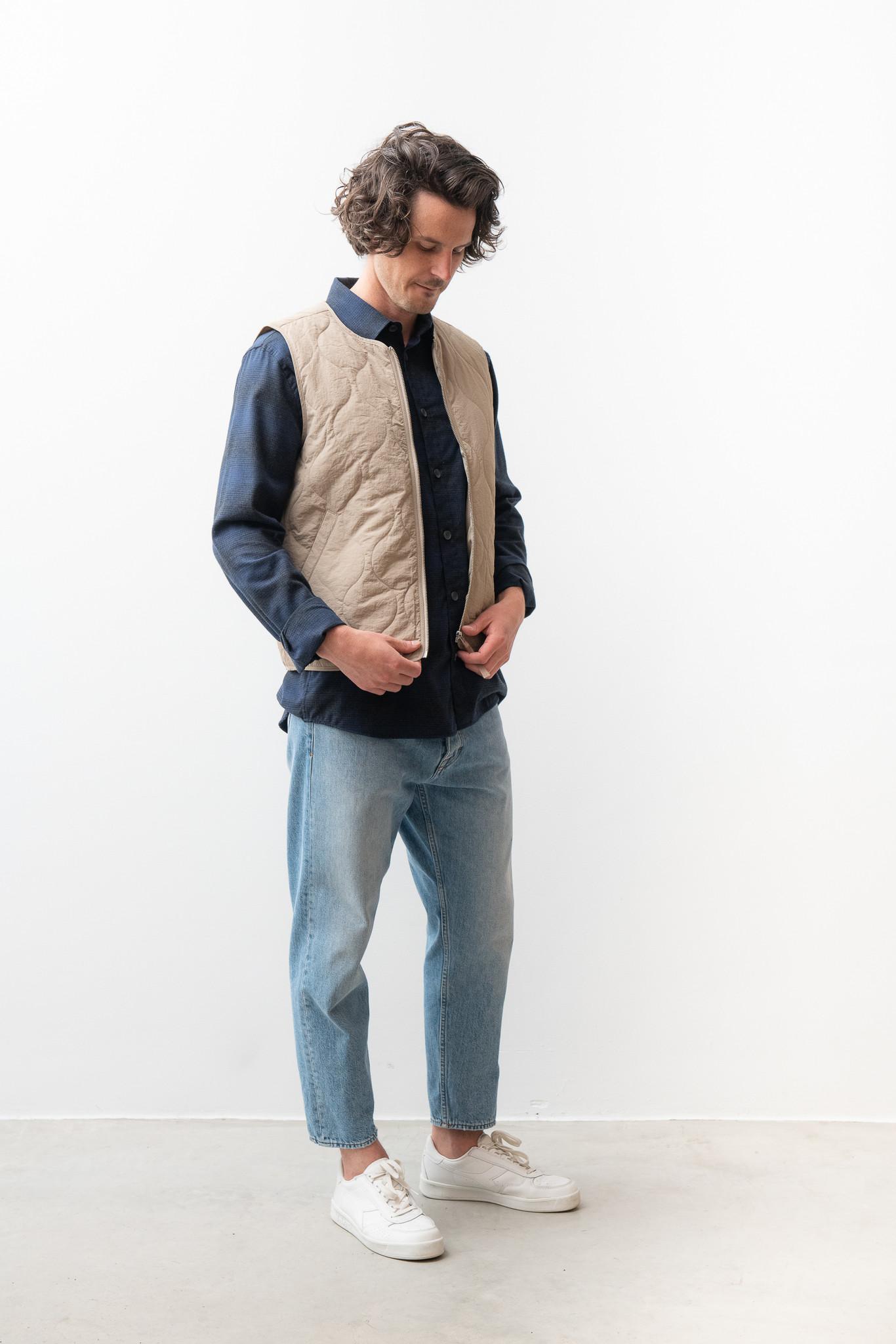 Hobson Vest Olive Green-2
