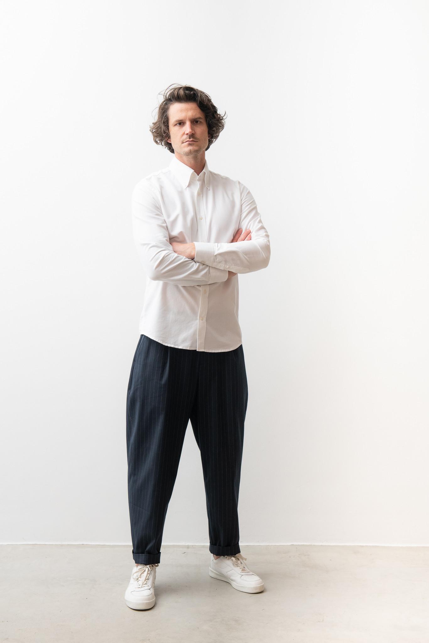 Hunter Classic White Shirt-1