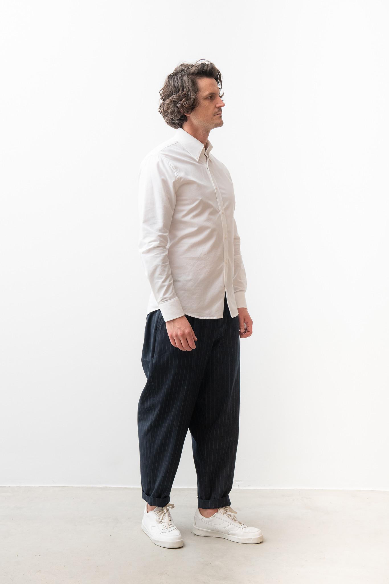 Hunter Classic White Shirt-3