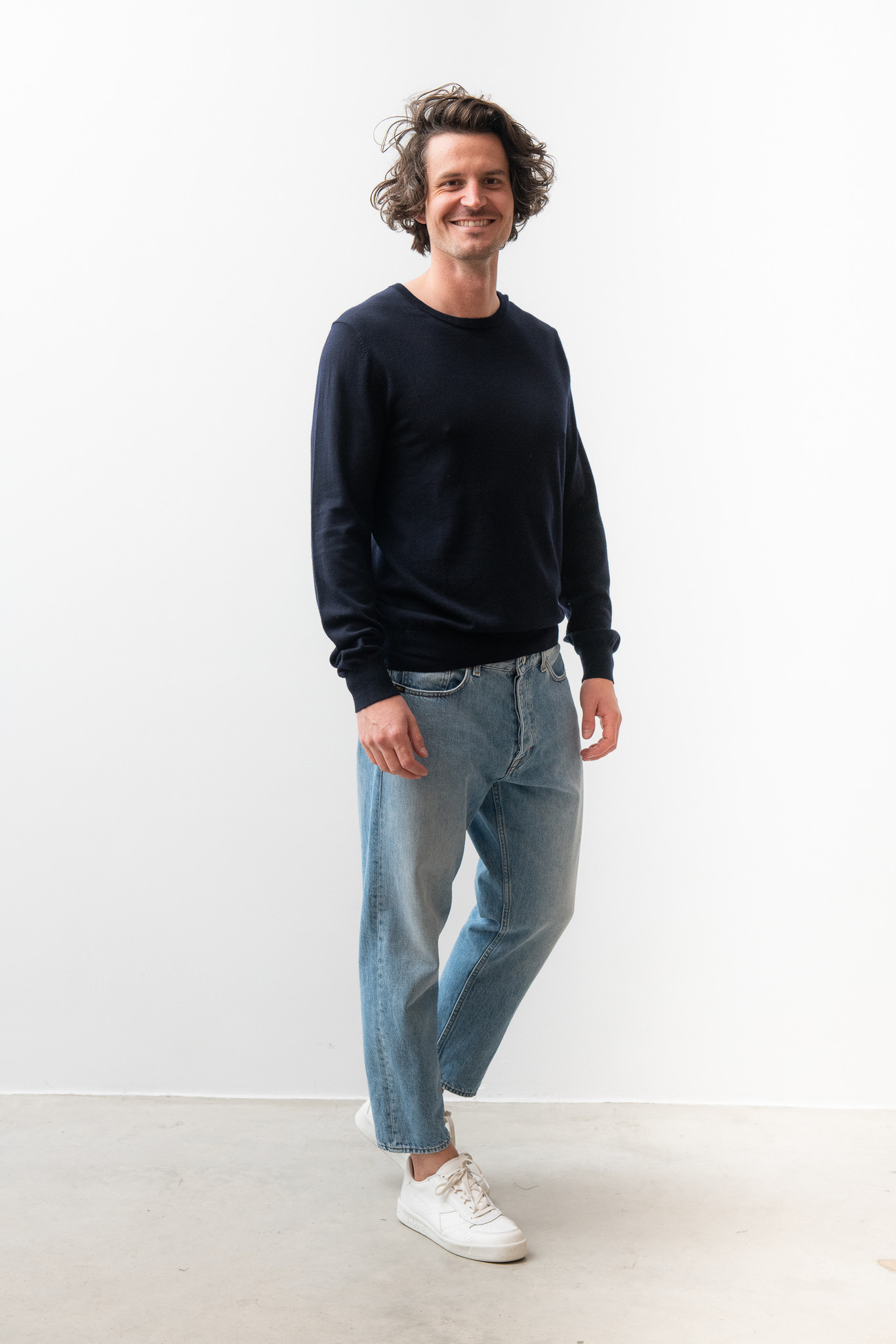 Matias Fine Italian Wool Knit Light Ink-2