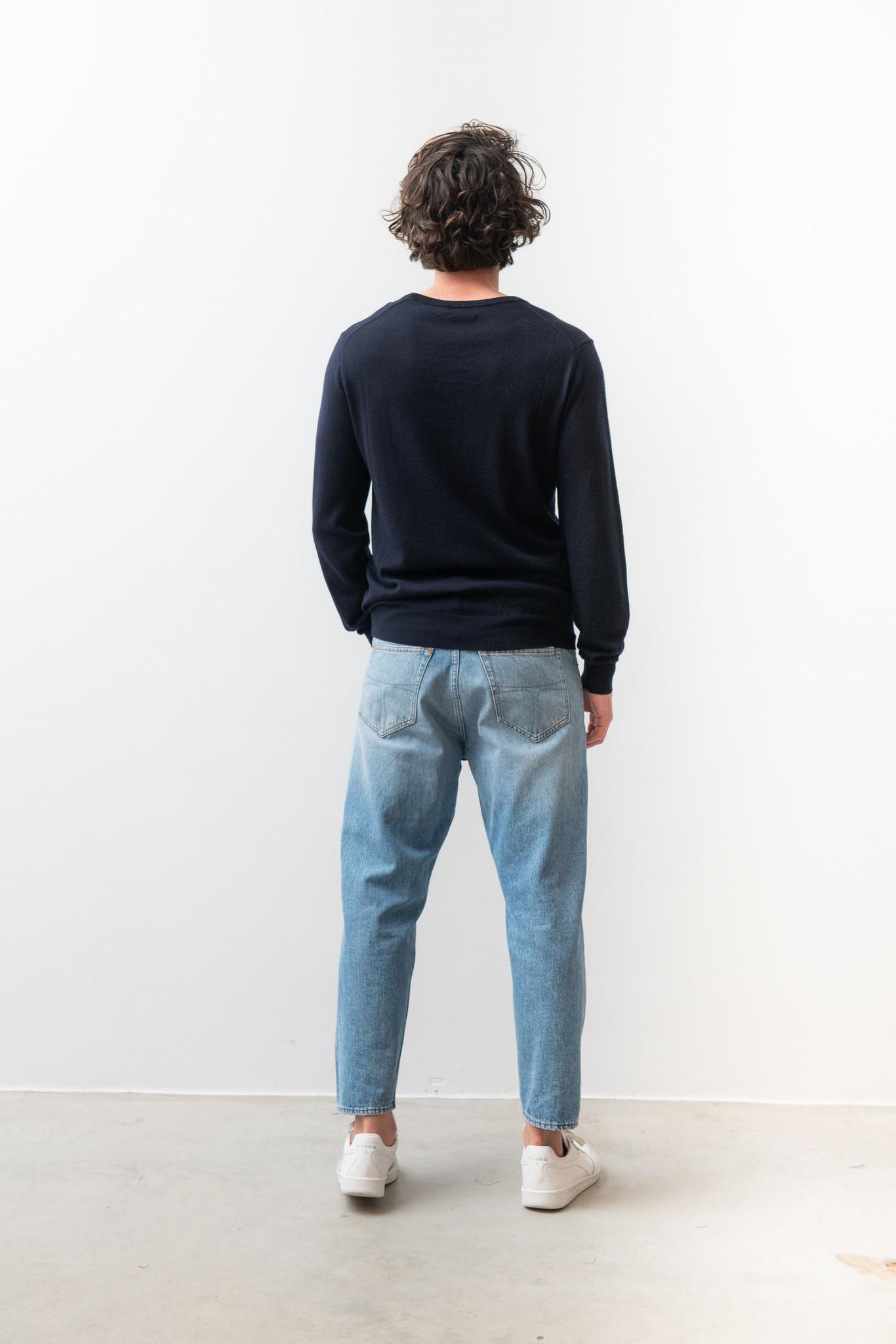 Matias Fine Italian Wool Knit Light Ink-4