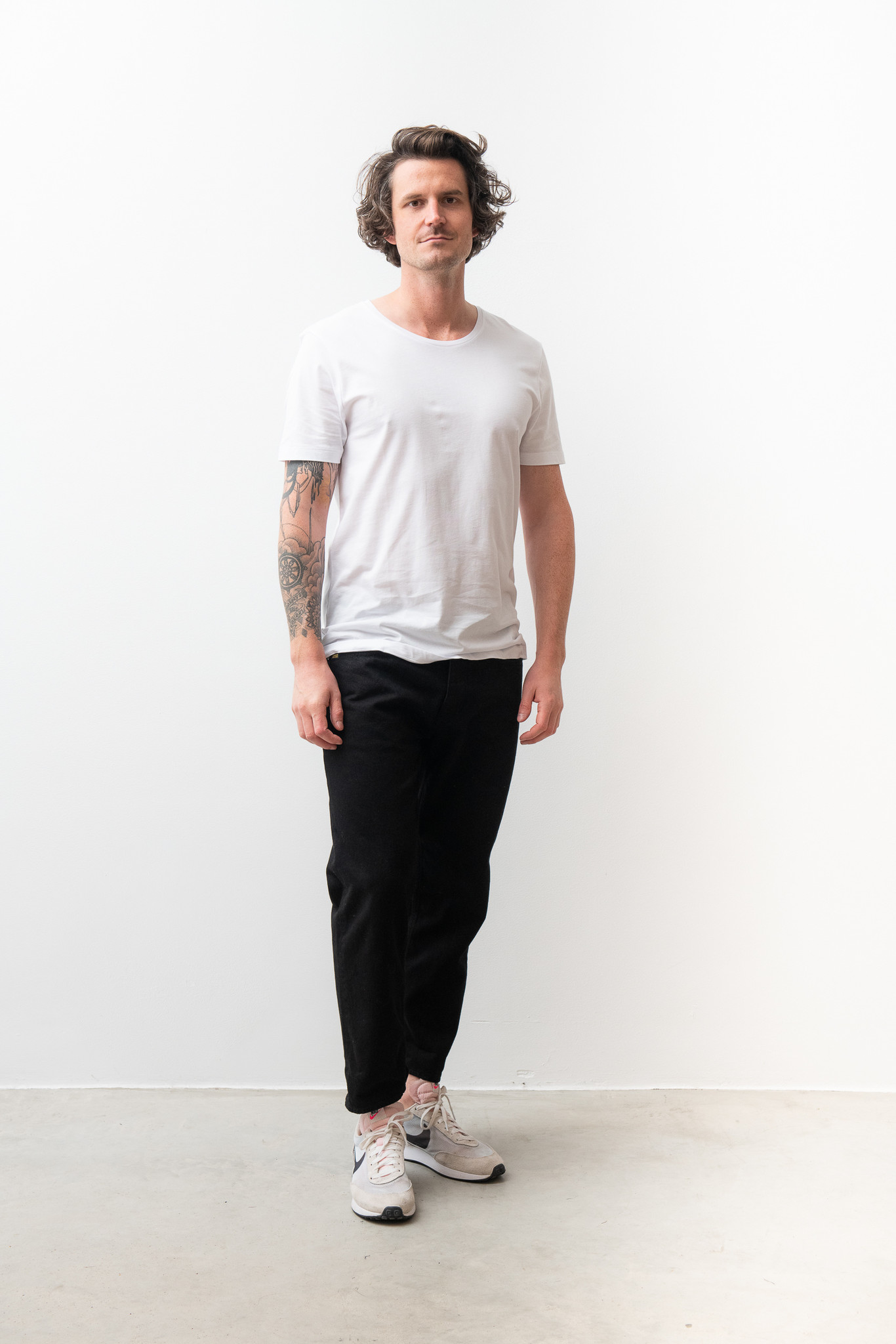Legacy Fine Cotton Round Neck Tee-1