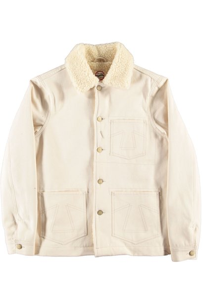 Chore 673 Jacket Snow Off White Sherpa
