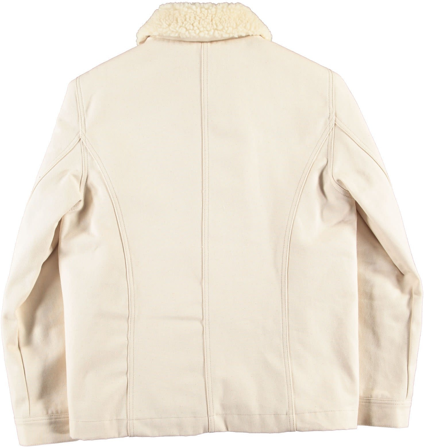 Chore 673 Worker Jacket Snow Off White Sherpa-2