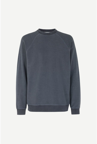 Aso Crew Neck Sweatshirt Night Sky Blue