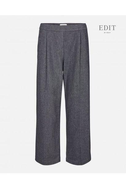 kairo Wide Grey Wool Pants