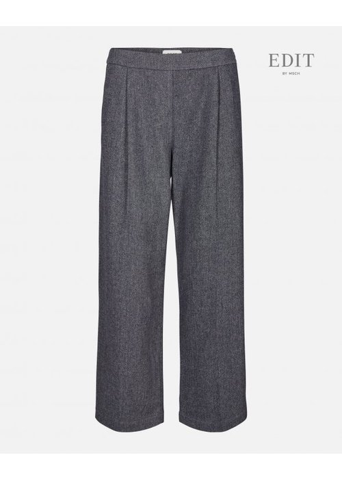 Edit by Moss kairo Wide Grey Wool Pants