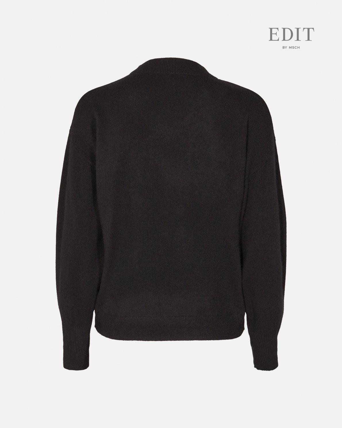 Ingo Black Wool Pullover-2