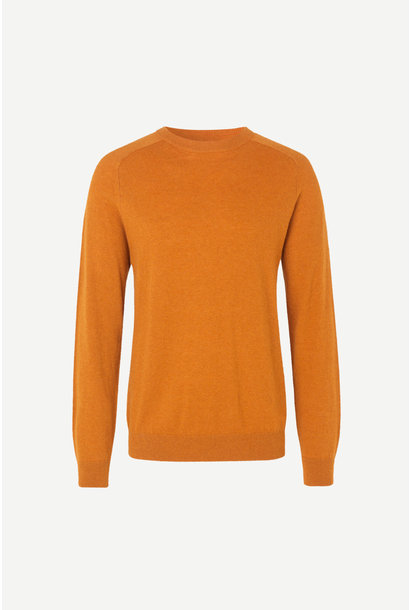 Gillis Crew Neck Honey Ginger Yellow