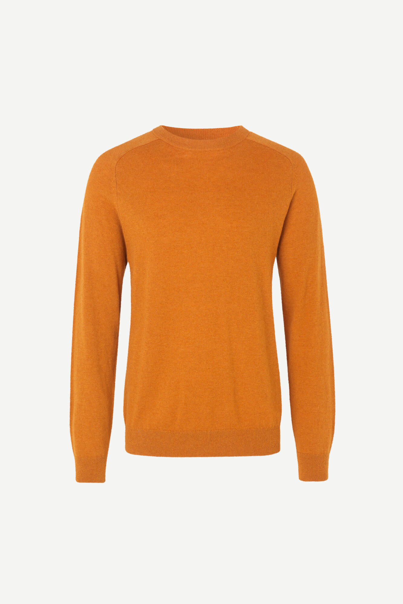 Gillis Crew Neck Honey Ginger Yellow-1