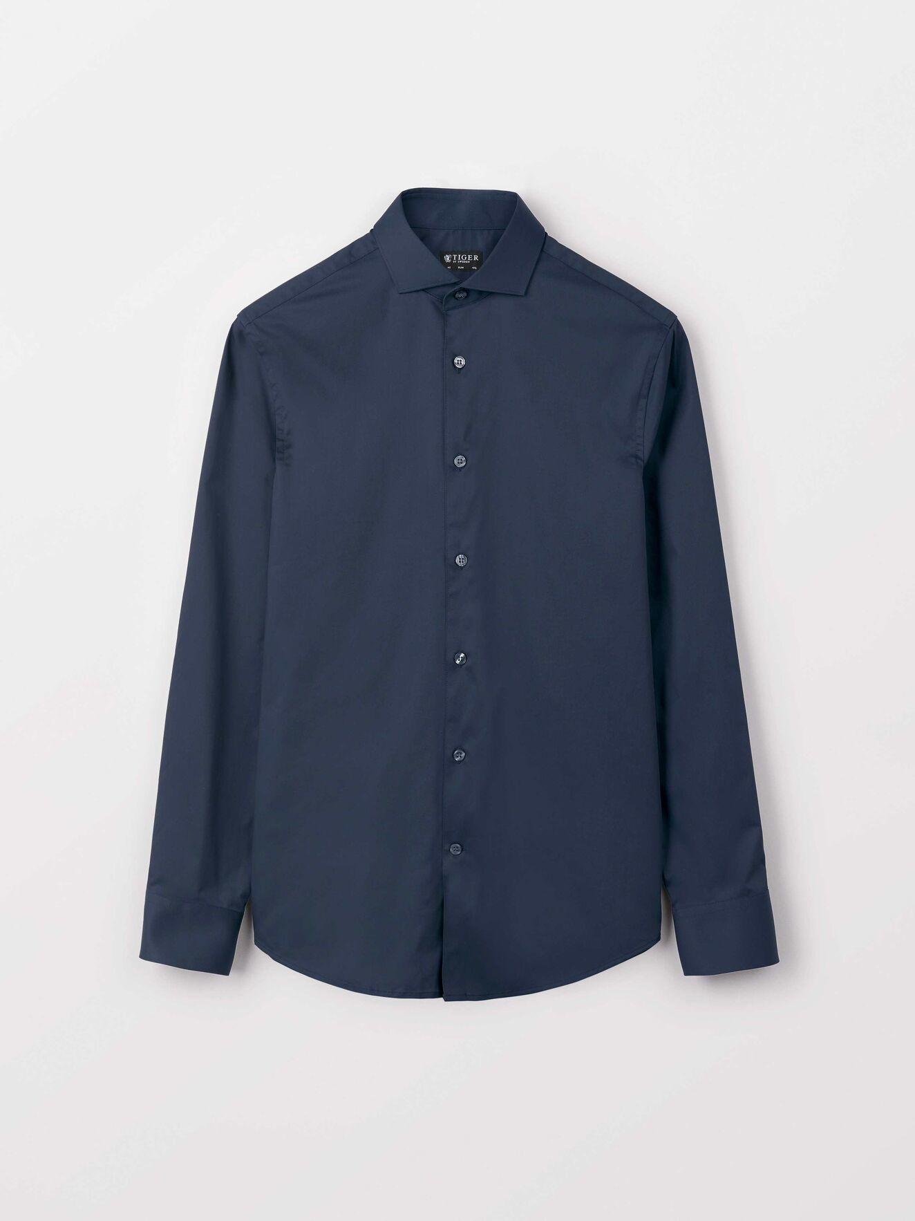 Farrell 5 Smart Shirt Dark Navy-1