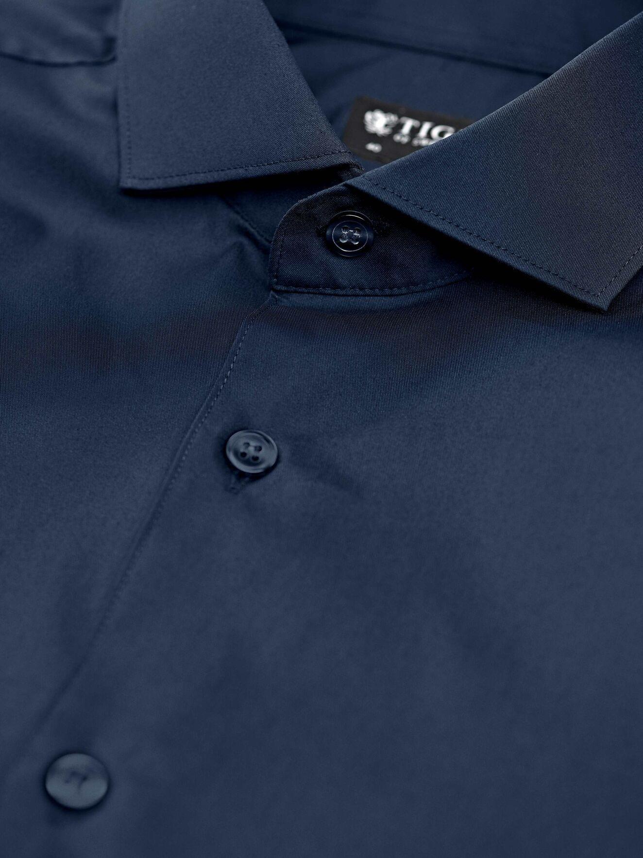 Farrell 5 Smart Shirt Dark Navy-3