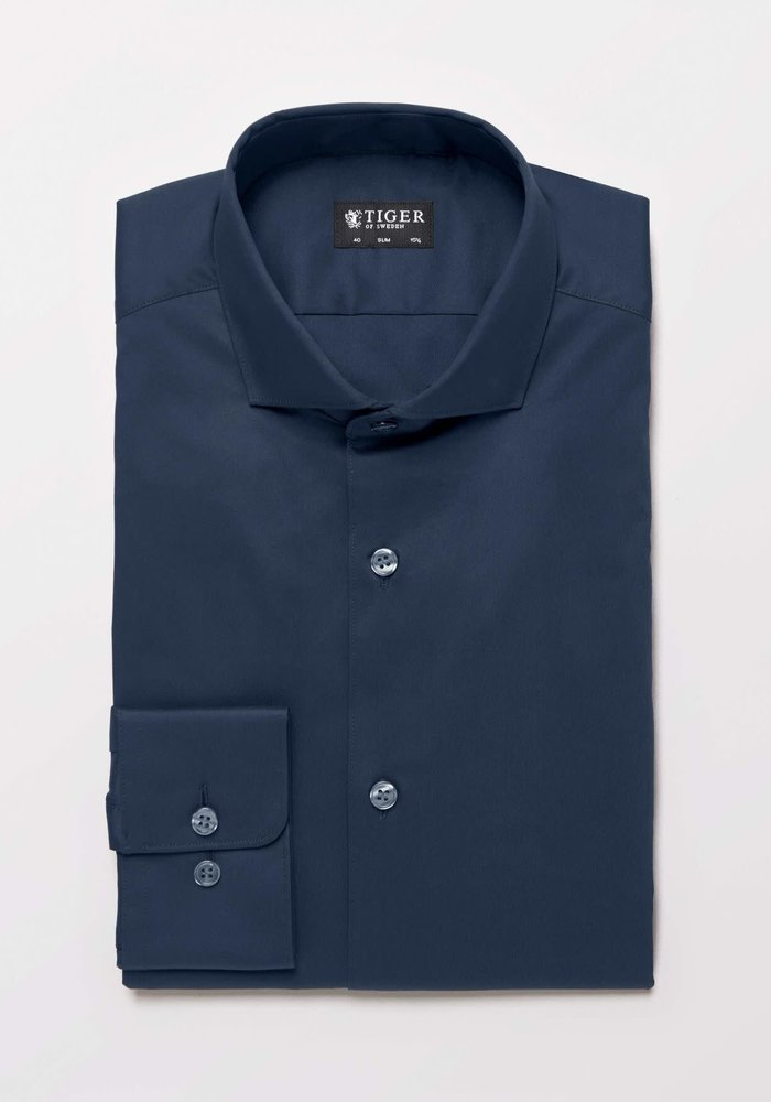 Farrell 5 Smart Shirt Dark Navy