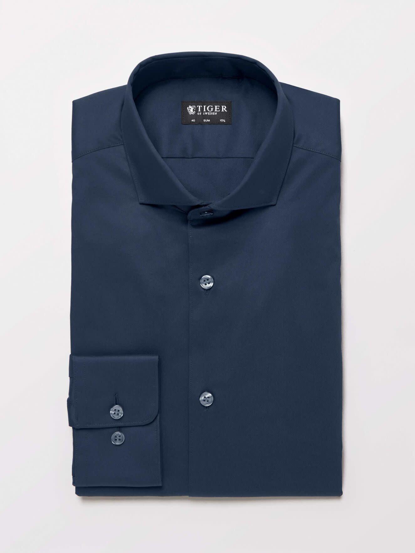 Farrell 5 Smart Shirt Dark Navy-5