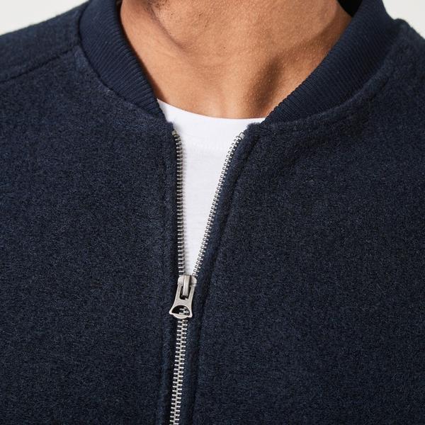 Sigurd Navy Wool Vest-3