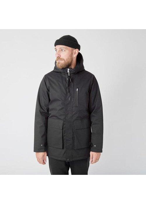 Suit Ron Heavy Half Long Jacket Black