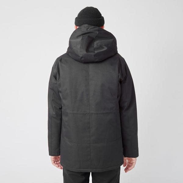 Ron Heavy Half Long Jacket Black-4