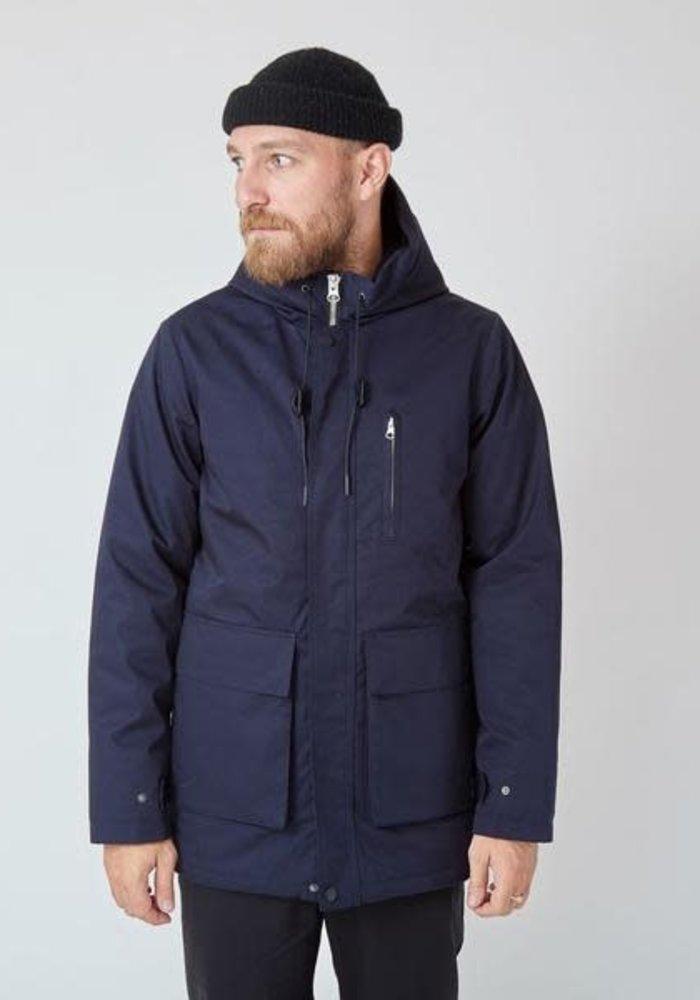 Ron Heavy Half Long Jacket Navy