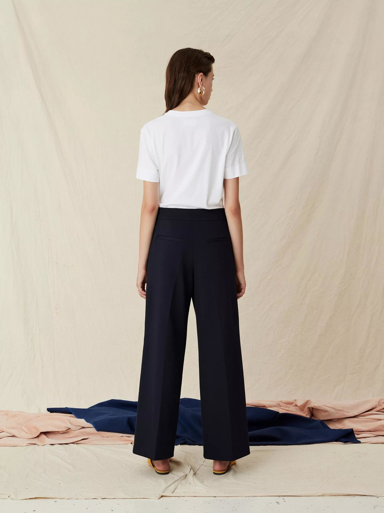 Lark Trousers Navy-4