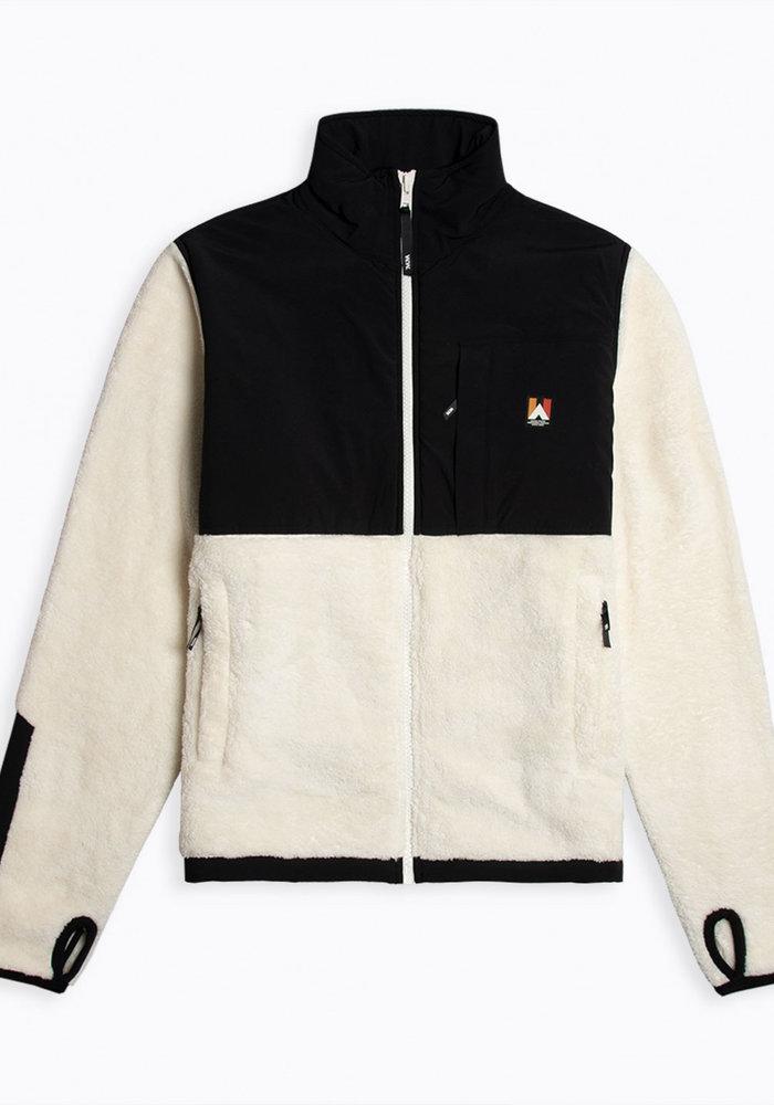 Hannes Off White Teddy Fleece Jacket