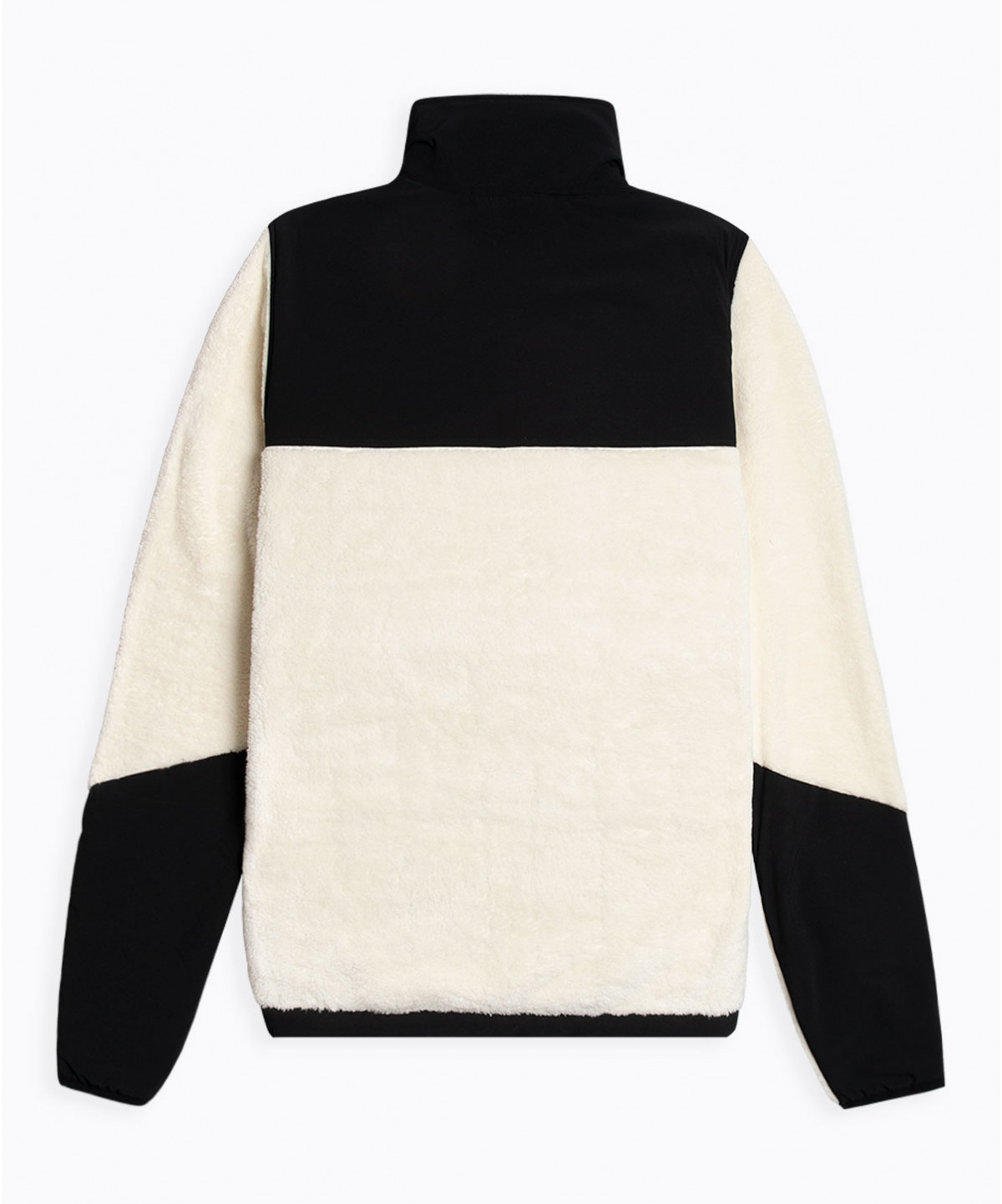Hannes Off White Teddy Fleece Jacket-2
