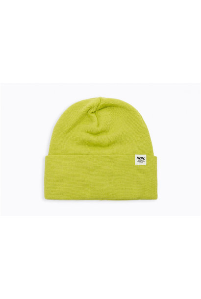 Gerald Tall Beanie Bright Green
