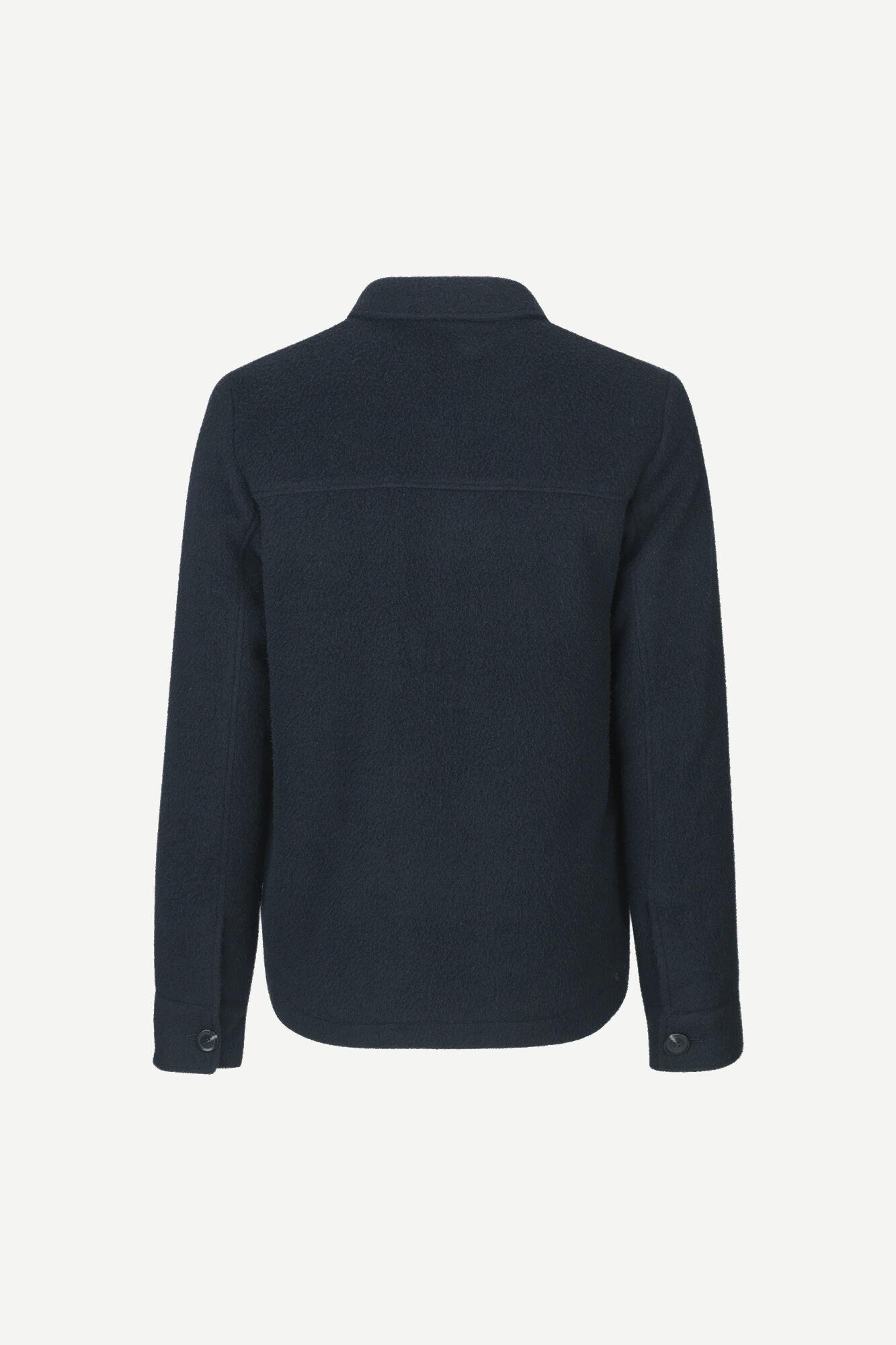 Melito Wool Jacket Night Sky Blue-2