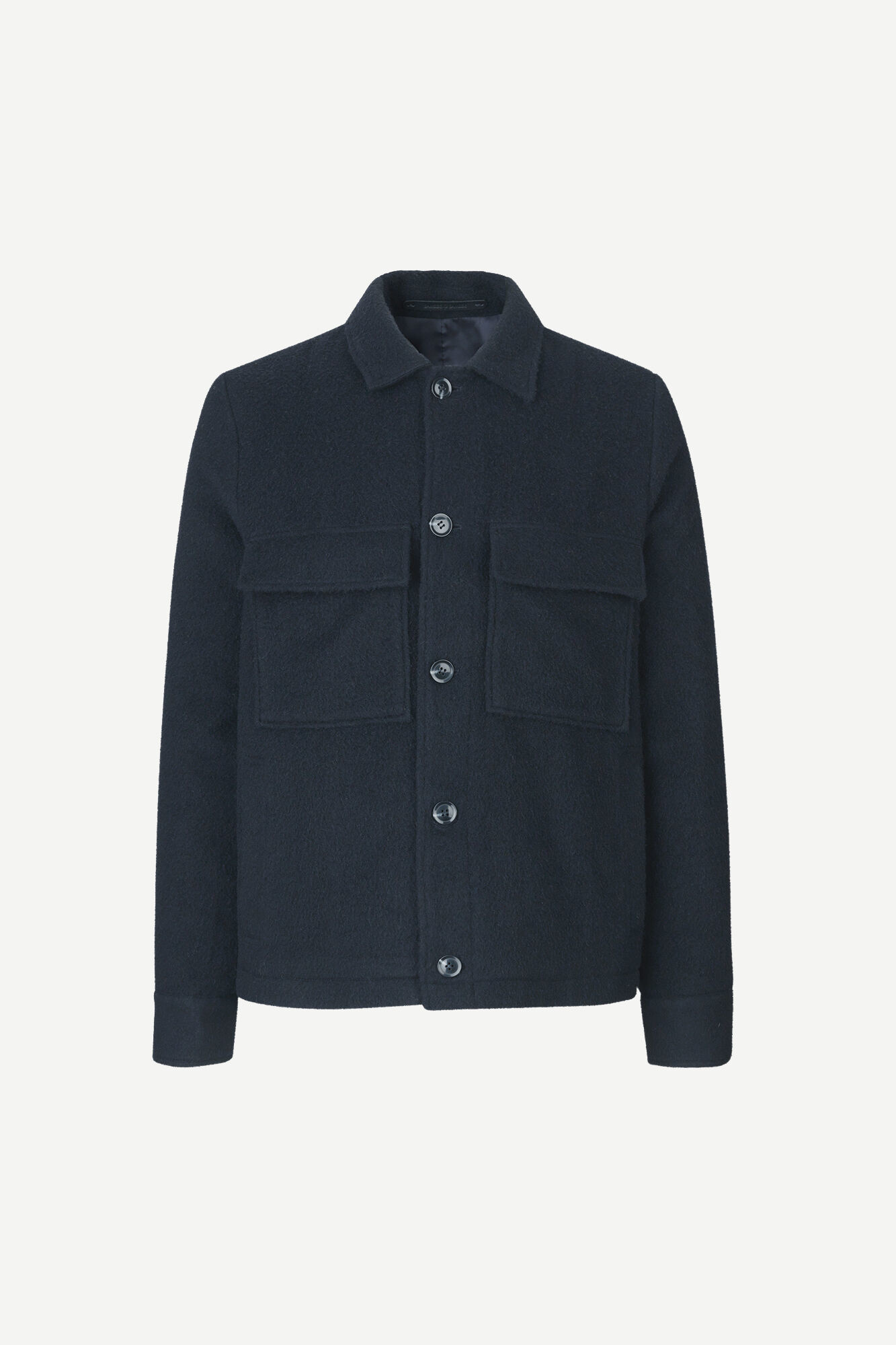 Melito Wool Jacket Night Sky Blue-1