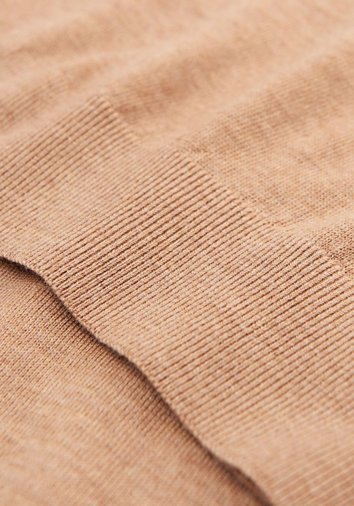 Nichols Wool Pullover Pale Mauve