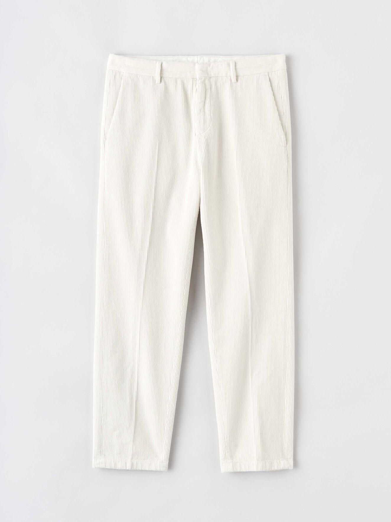 Cone Ppt Off White Cord Trouser-1