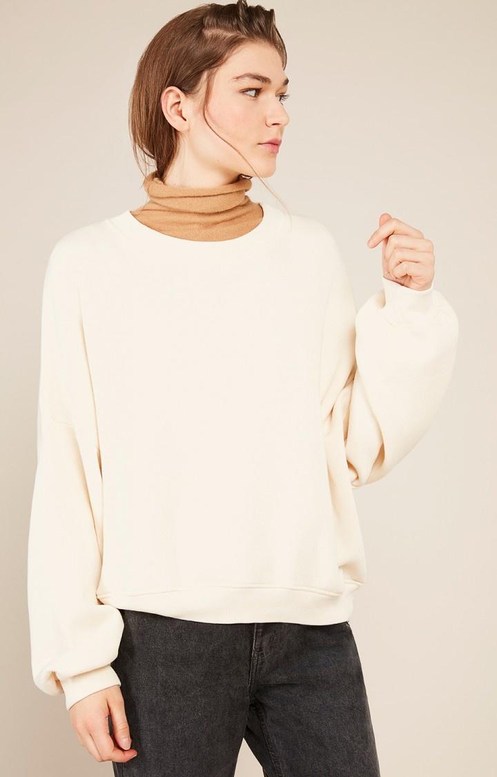 Kinouba Oversize Sweater Caramel Brown-2