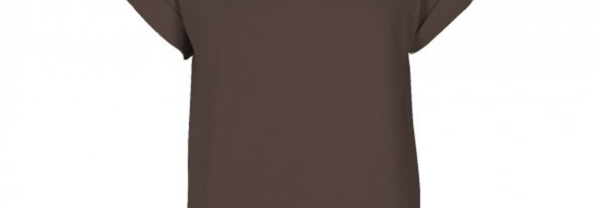 Alva T-shirt Coffee Brown