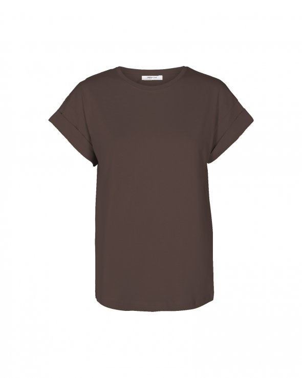 Alva T-shirt Coffee Brown-2