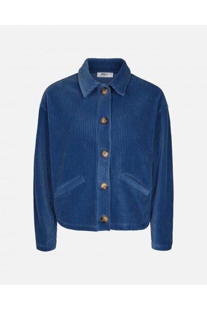 Florina Blue Corduroy Jacket