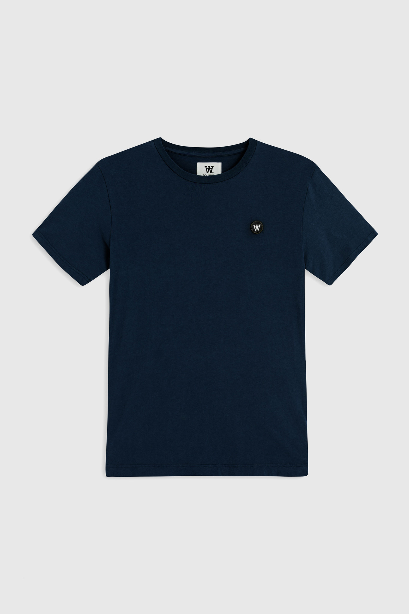 Ace Double A T-Shirt Navy-1