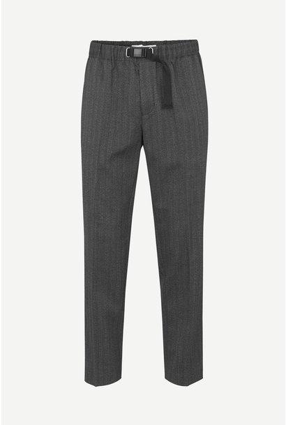 Agnar Trouser Haringbone Grey Melange