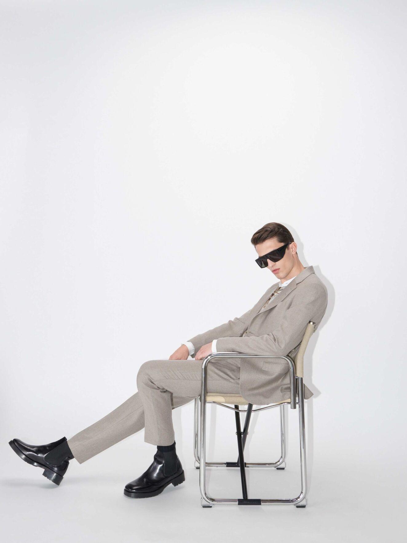Tordon Soft Latte Suit Pants-2