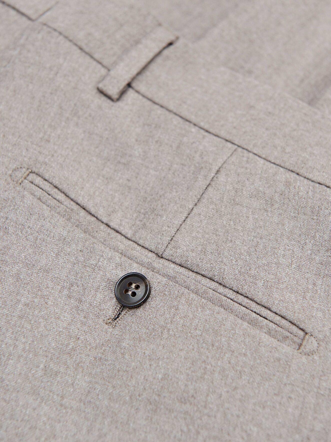 Tordon Soft Latte Suit Pants-3