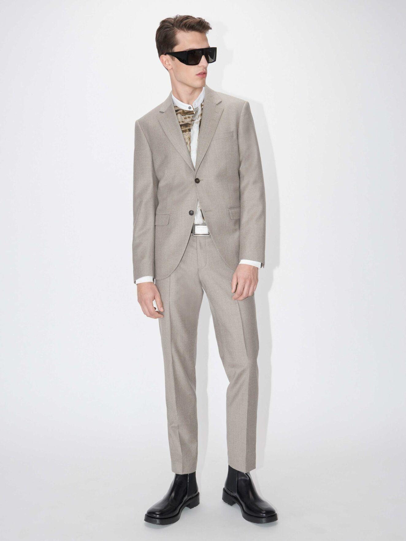 Tordon Soft Latte Suit Pants-4