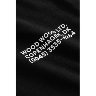 Info T-Shirt Black Unisex-3