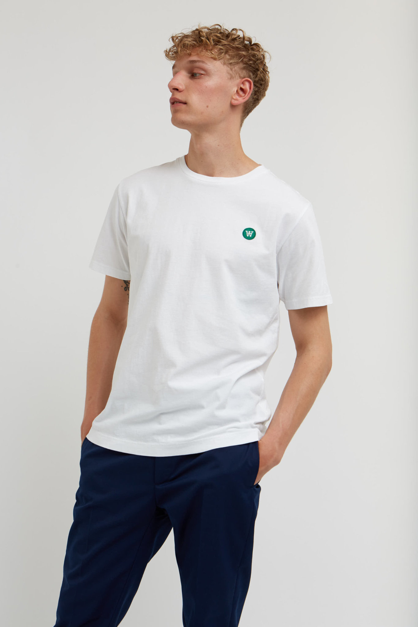 Ace Double A T-Shirt Bright White-3