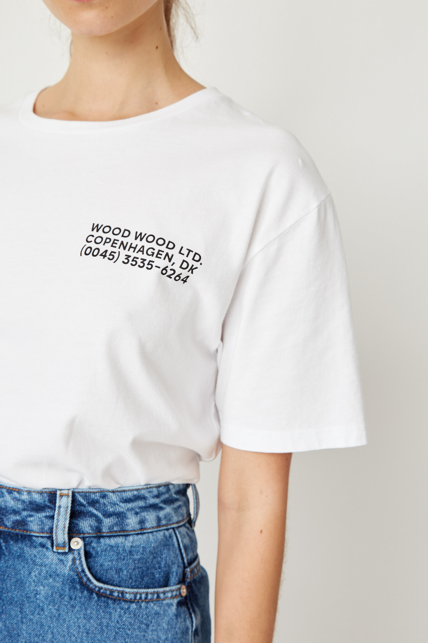 Info T-Shirt White Unisex-5