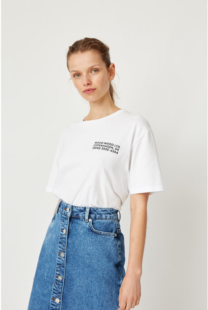 Info T-Shirt White Unisex