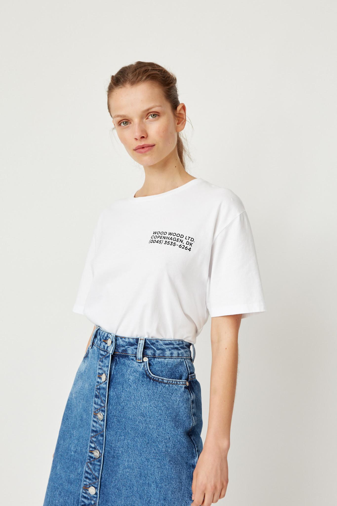 Info T-Shirt White Unisex-1