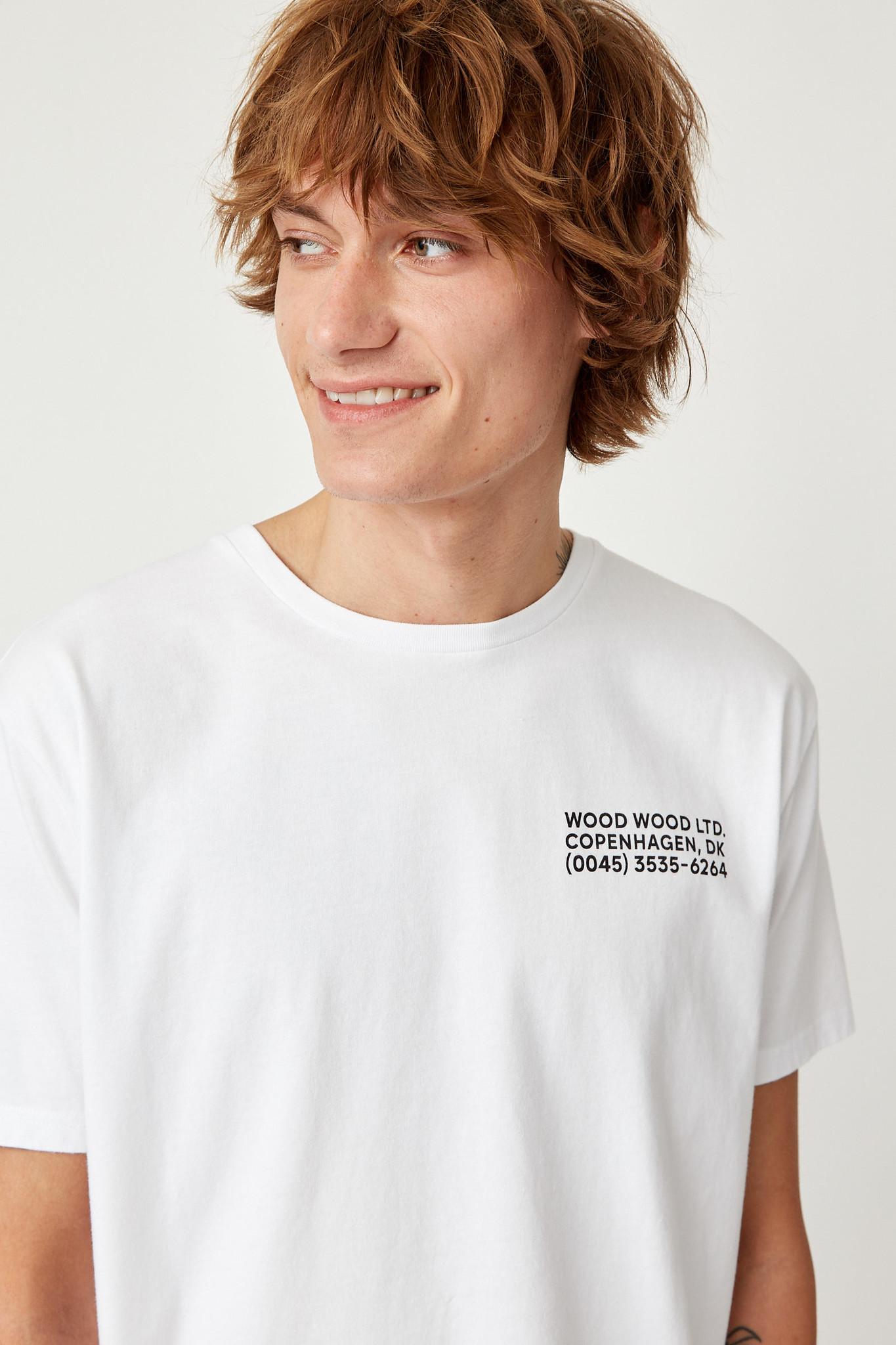 Info T-Shirt White Unisex-3
