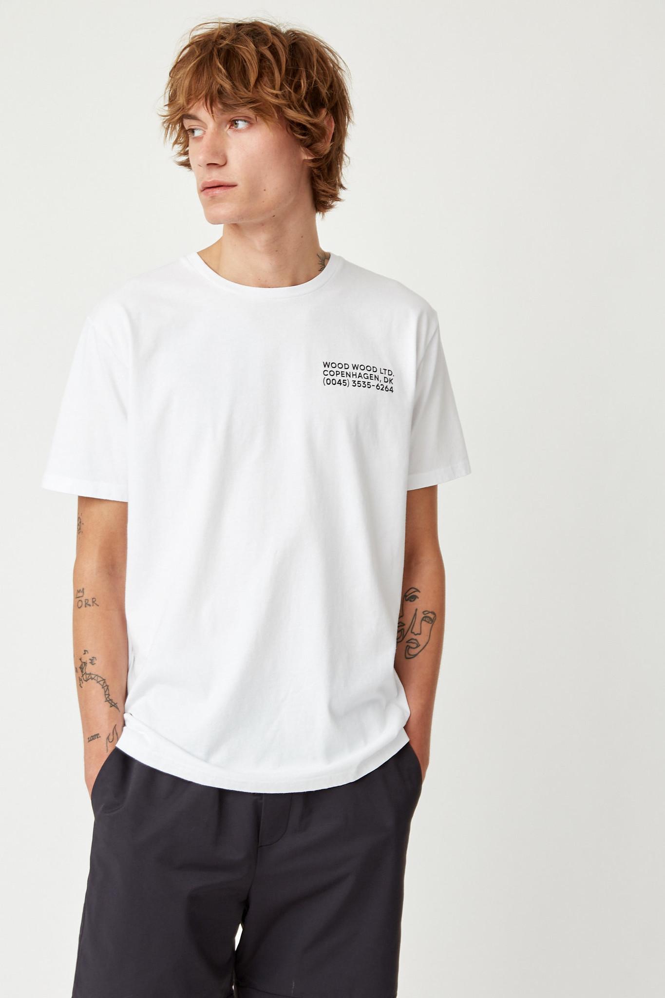 Info T-Shirt White Unisex-2